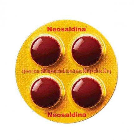 Neosaldina com 4 drágeas