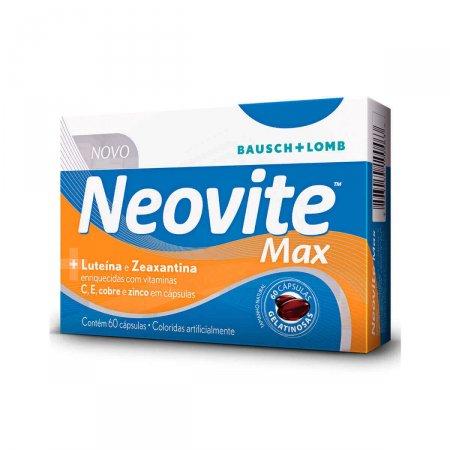 Suplemento Alimentar Neovite Max com 60 cápsulas