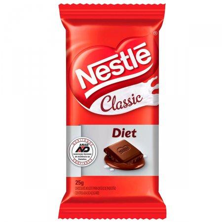 Chocolate ao Leite Nestlé Classic Diet