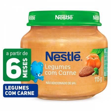 Papinha Nestlé de Legumes com Carne