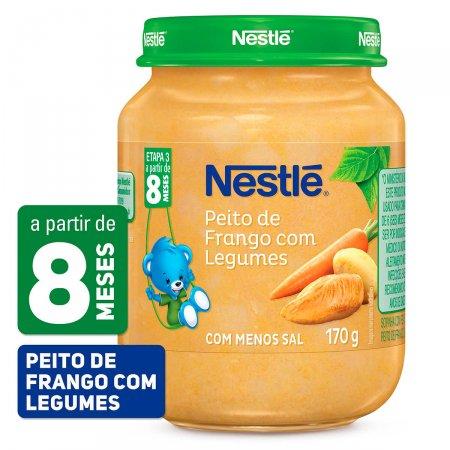 Papinha Nestlé de Peito de Frango com Legumes