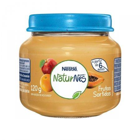 Papinha Nestlé Naturnes Frutas Sortidas 120g