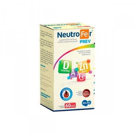 Suplemento Nutricional Neutrofer Prev com 60ml