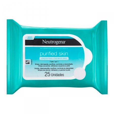 Removedor de Maquiagem Neutrogena Cleaning Wipes