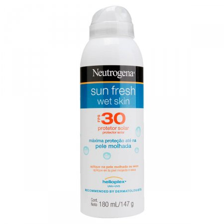 Protetor Solar Neutrogena Wet Skin Sun Fresh FPS30
