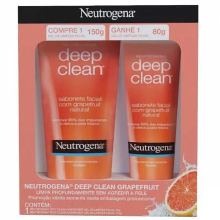 Gel Limpeza Neutrogena Deep Clean Grapefruit