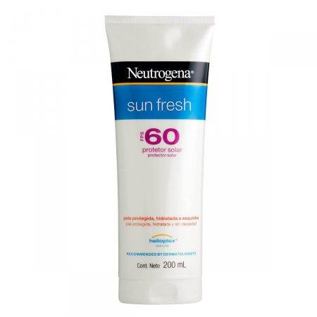 Protetor Solar Corporal Neutrogena Sun Fresh FPS 60 com 200ml
