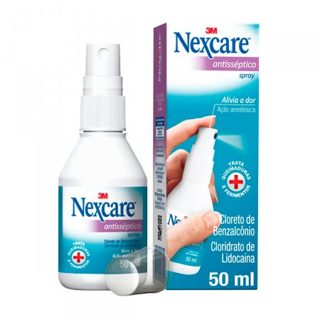 Spray Nexcare Antisséptico