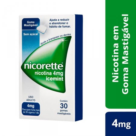 Nicorette Icemint 4mg