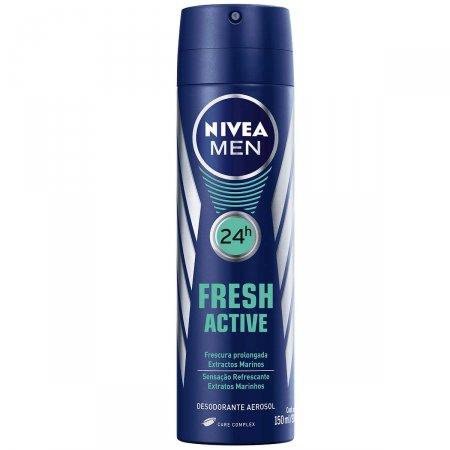 Desodorante Aerosol Nivea Fresh Active