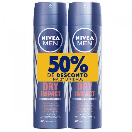 Kit Desodorante Aerosol Nivea Dry Impact