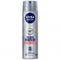 00d17bf10 Desodorante Antitranspirante Aerosol Nivea Silver Protect