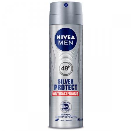Desodorante Aerosol Nivea Silver Protect Antibacteriano