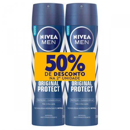 Kit Desodorante Aerosol Nivea Protect & Care