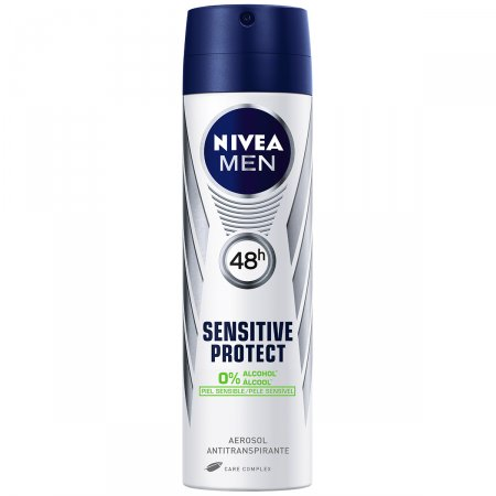 Desodorante Aerosol Nivea Men Sensitive Protect