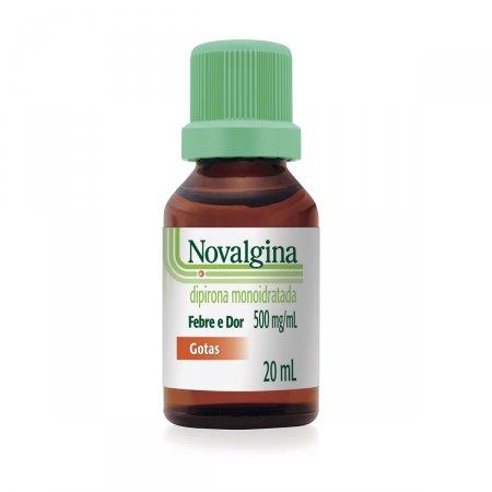 Novalgina 500mg/ml Solução Oral - Gotas 20ml  