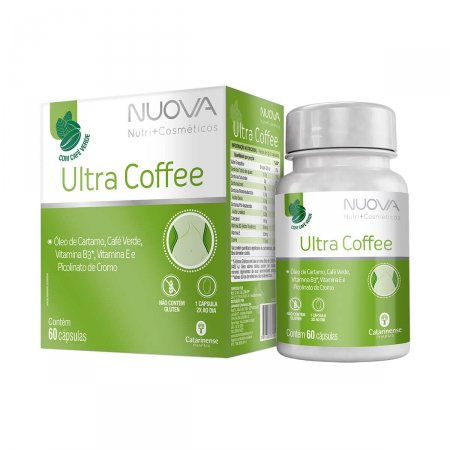 Nuova Ultra Coffee com 60 Cápsulas  