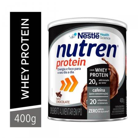 Suplemento Alimentar Nestlé Nutren Protein Chocolate com 400g