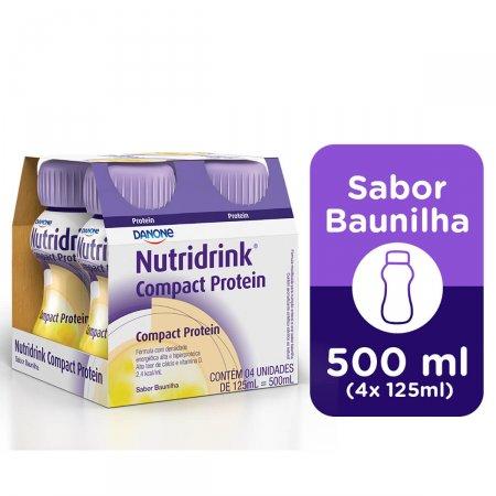 Nutridrink Compact Protein Baunilha com 4 Unidades