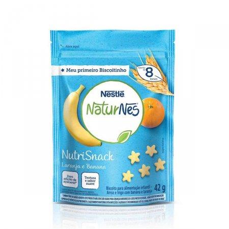 Nutrisnack Nestlé NaturNes Sabor Laranja e Banana
