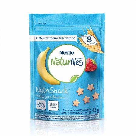 Nutrisnack Nestlé NaturNes Sabor Morango e Banana