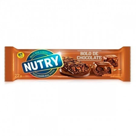 Barra de Cereal Nutry Sabor Bolo de Chocolate
