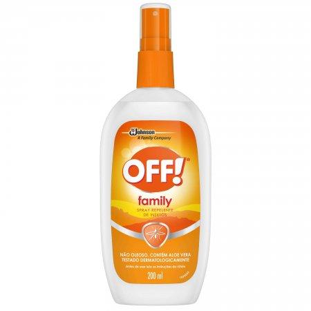 Repelente Spray Off! Family