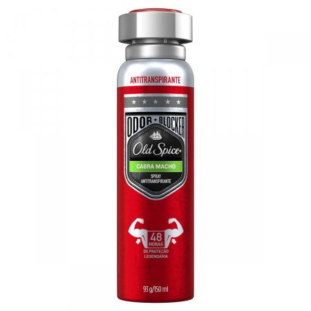 Desodorante Spray Antitranspirante Old Spice Cabra Macho