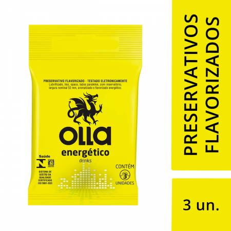 Preservativo Olla Energético Drinks