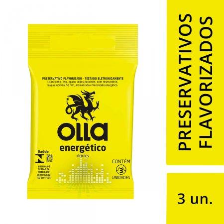 Preservativo Olla Energético Drinks