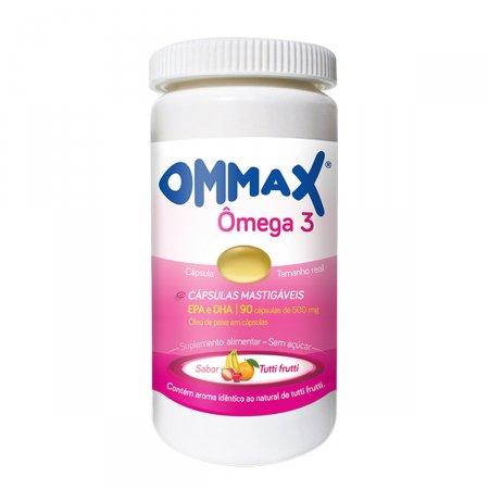Omega 3 Ommax Sabor Tutti Frutti