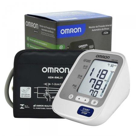 Monitor de Pressão Arterial de Braço Omron Digital Automático HEM7130
