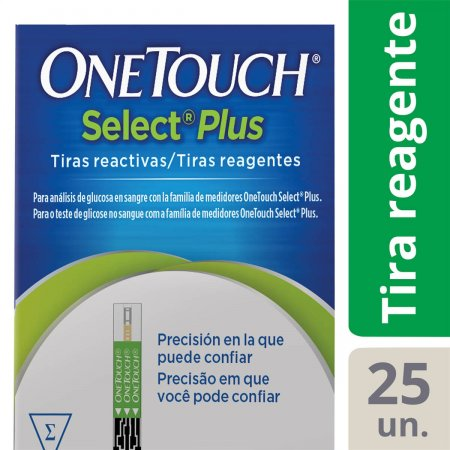 Tiras One Touch Ultra Soft Select Plus