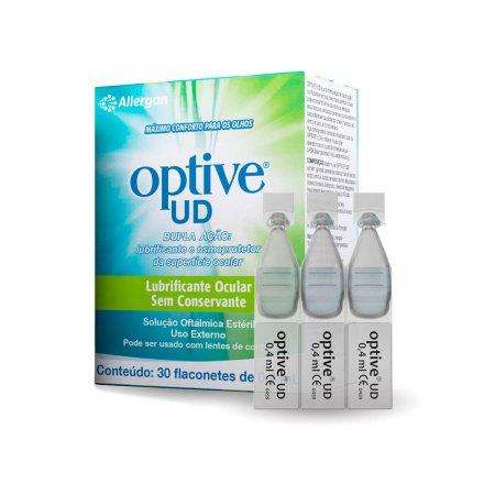 Lubrificante Ocular Optive UD com 30 flaconetes de 4ml