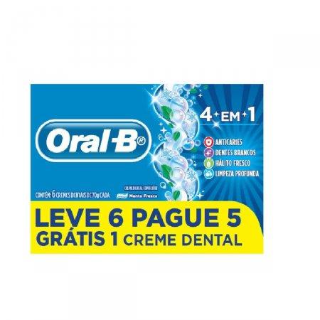 Creme Dental Oral-B 4 em 1