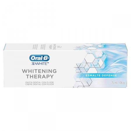 Creme Dental Oral-B 3D Whitening Therapy Esmalte Defense