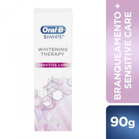 Creme Dental Oral-B 3D White Whitening Therapy Sensitive Care