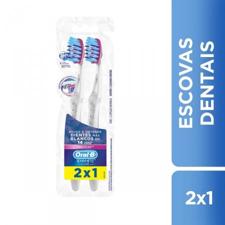 Escova Dental Oral-B 3D White Luxe Pro-Flex