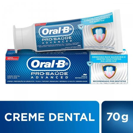 Creme Dental Oral-B Pro-Sáude Advanced