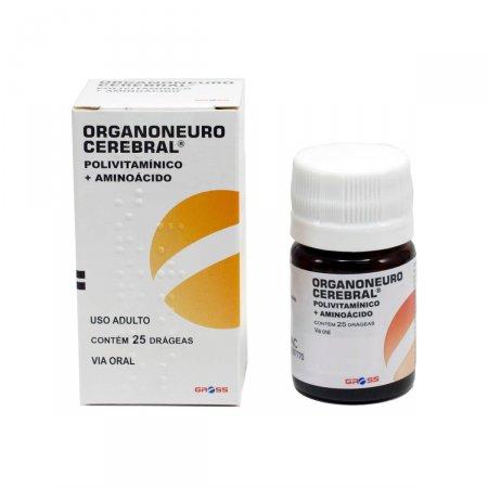 Organoneuro Gross 25 Drágeas | Drogaraia.com