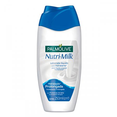 Sabonete Líquido Corporal Palmolive Nutri-Milk Hidratante