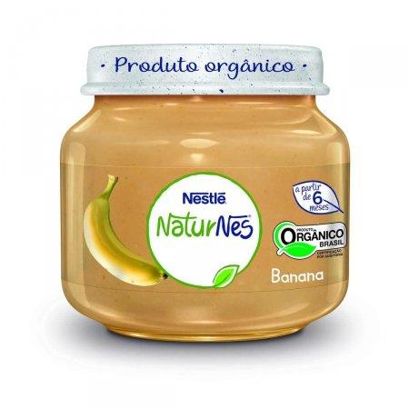 Papinha Nestlé Naturnes Orgânico Banana 120g