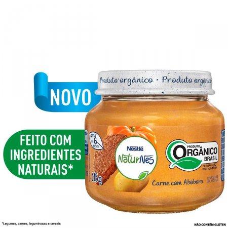 Papinha Orgânica Nestlé Naturnes Carne com Abóbora com 115g   Foto 2