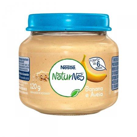 Papinha Nestlé Naturnes Banana com Aveia 120g