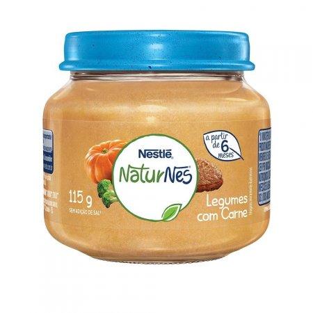 Papinha Nestlé Naturnes Legumes com Carne 115g