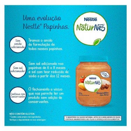 Papinha Nestlé de Strogonofinho com Arroz