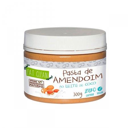 Pasta de Amendoin Eat Clean ao Leite de Coco