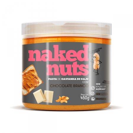 Pasta de Castanha de Caju Naked Nuts com Chocolate Branco