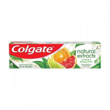 Pasta Dental Colgate Natural Extracts Defesa Reforçada com 90g | Foto 1