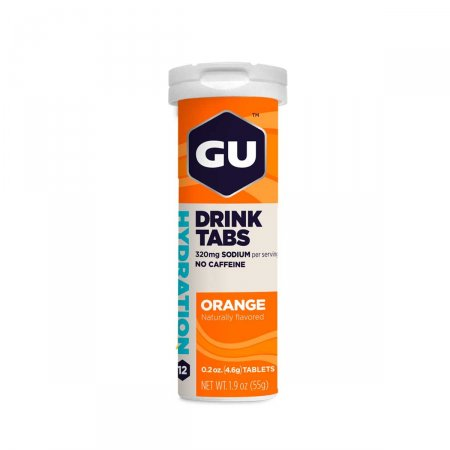 Pastilha Gu Drink Tabs Laranja com 12 Unidades | Foto 1